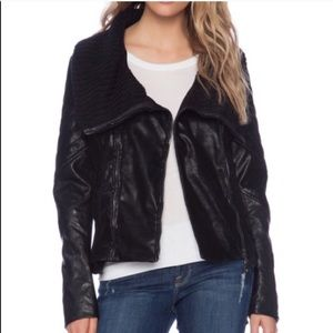 Blank NYC Plan B Vegan Leather Jacket